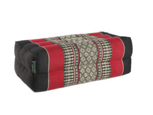 anadeo-standard-yoga cushion-black red