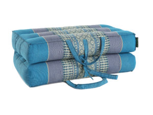 anadeo-foldable-yoga cushion-teal turquoise