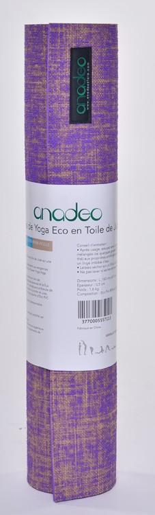 Tapis de Yoga Eco en toile Jute