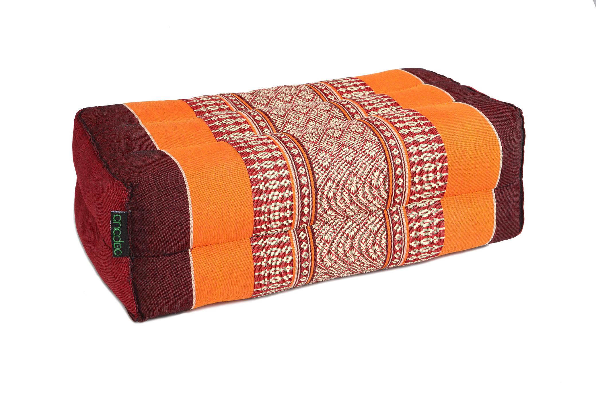 anadeo-standard-yogacushion-burgundy orange