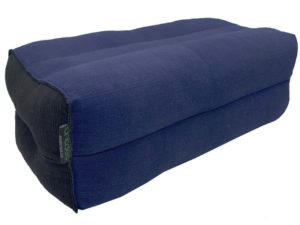 Indigo / Black yoga cushion
