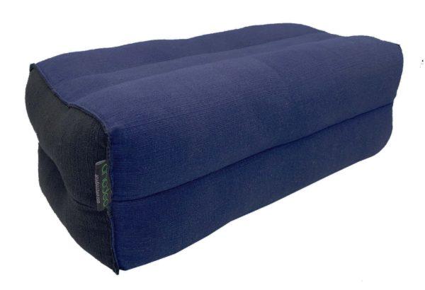 Indigo / Black yoga cushion