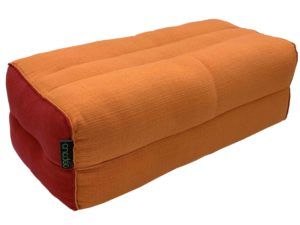 Cushion de yoga Monk Safran