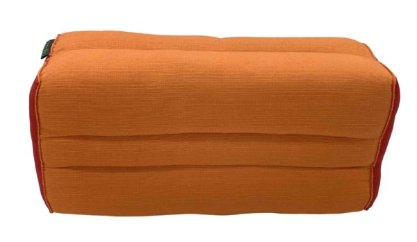 Coussin de yoga Monk Safran