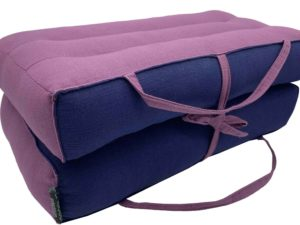 Modular Yoga & Meditation Cushion / Indigo - Black